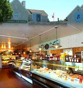 gosman 39 s dock seafood restaurant topside inlet cafe